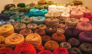 yarn on cones