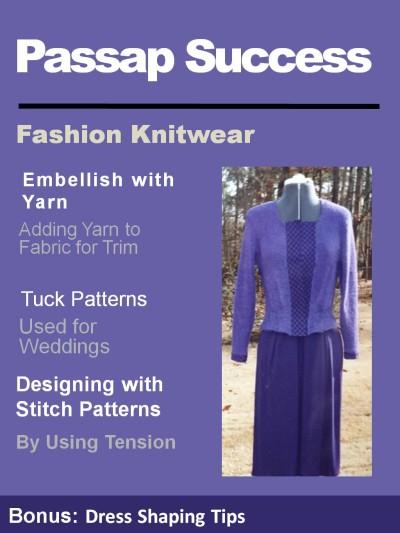 knitting on the Passap